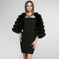 3/4 Length Sleeves Faux Fur Wedding Party/ Evening Women