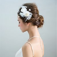 Alloy Flowers Headpiece