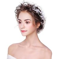 Alloy Flowers 1pc Headpiece