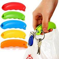 1Pc Silicone Bag Carrier Handle Hang Handbag Basket Shopping Bag Holder Comfortable Grip Protect Hand