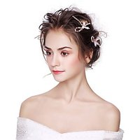 Alloy Flowers 3PCS Headpiece