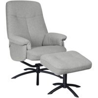 Fauteuil relax Pouf tissu Neo