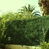 Haie artificielle LUX 243 brins Vert Thuyas maillage Losange 150x300 JET7GARDEN