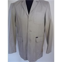 Cotton Traders Size 38 Chest Beige Jacket