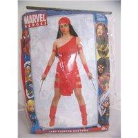 Cesar - Size: Medium 14/16 - Red - Marvel Heroes Sexy Elektra Costume