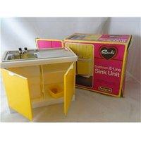 Vintage Sindy Kitchen Sink Unit Pedigree
