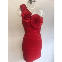 Red Dress Size 12 Miso - Size: 12 - Red - Mini Skirt