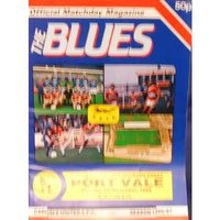 Image of Carlisle United v Port Vale - Division 3 - 4th November 1986