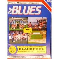 Image of Carlisle United v Blackpool - Division 3 - 24th January 1987