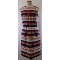 Tommy Hilfiger - Size: Usa 4 - Multi-coloured - Mini Dress- 100% Silk
