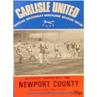 Image of Carlisle United v Newport County - Division 3 - 20th March 1982