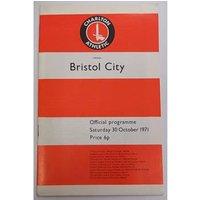 Image of Charlton Athletic v Bristol City. 30th October 1971