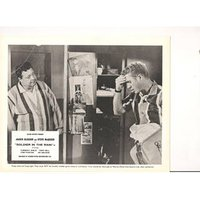 "Jackie Gleason & Steve McQueen starring in the 1963 ""Soldier in the Rain"". Set of 8 B&W 10""x8"" Lobby Cards"