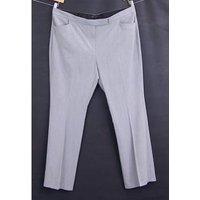 Bnwot M&s Marks & Spencer - Mens - Size: Uk 20 Eur 48 - Light Grey - Smart Trousers
