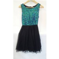 H&m Cocktail Dress With Sequins.size 10 Size: 10 - Multi-coloured - Cocktail Dress