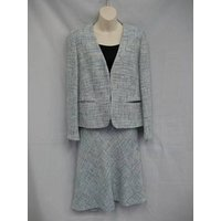 Country Casuals Pale Blue Suit - Size 16/ 18