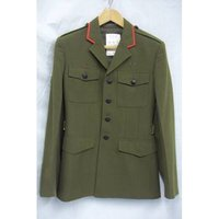 Mens Army Jacket - Chest 92 Waist 76 Unbranded - Size: M - Green