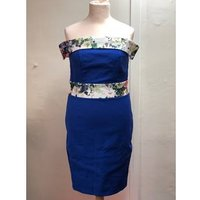 Image of Paper Dolls London Bardot neckline Dress Size 14