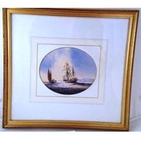 Seascape Original by Ken Hammond - Small