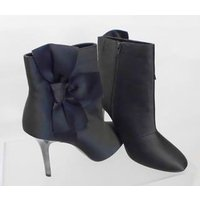 M&S Size: 8 Black Stiletto Ankle Boots
