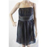 Image of BNWT Women's Metallic Coloured Designer Cocktail Dress White House Black Market - Size: 6 - Metallics - Cocktail dress