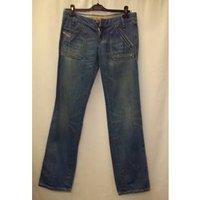 "Diesel Industry - Size: 30"" - Blue - Flared Jeans"