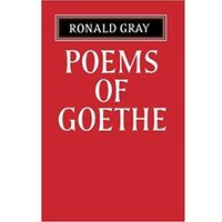 Image of Poems of Goethe - A Selection with Introduction by Ronald Gray
