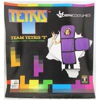 Tetris T Shape Costume Fits Many Sizes Morph Costumes - Size: 6-12 - Purple