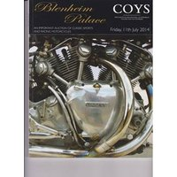 Image of Coys Blenheim Palace Catalogue 11th July 2014