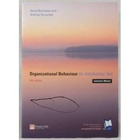 Image of Organizational Behaviour. An Introductory Text.