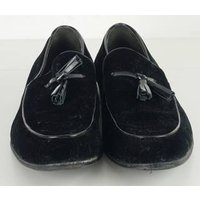 Image of Dune Size: 8 Black Suede Leather Loafers