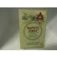 """Image of """"Safety First"""" Cigarette Cards, W.D. & H.O. Wills"""