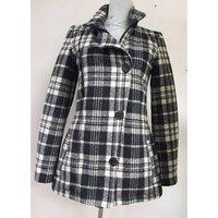 Image of Genuine Firetrap Blackseal Black & White Check jacket - Casual jacket / coat