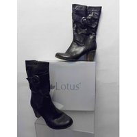 Image of Lotus - Size: 7 - Black - Boots