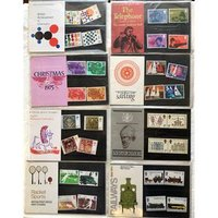 Image of Post Office mint stamps (nine packs)