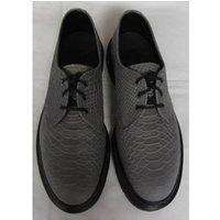 Image of NWOT Dr Martens - Size: 8 - Grey - Croc Effect - Shoes
