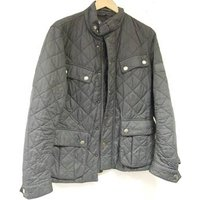Image of Genuine Barbour International Ariel Grey Quilted jacket, Size: S