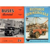 Image of Historic Commercials Brighton Run 1984 + Buses Illustrated September 1961