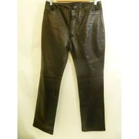 Image of Gap Genuine Leather Trousers size 12