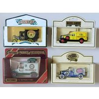 Image of Matchbox and Lledo Collectable Food Delivery Vehicles