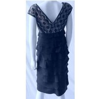 Image of Adrianna Papell Black Dress . Size 6 . Adrianna Papell - Size: 6 - Black