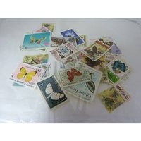 Image of thematic - butterfly stamps