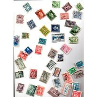 Image of Approx 45 stamps from Greece, Latvia & Estonia pre 1950 [high cat value]