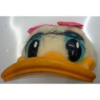Image of Vintage Disney Daisy Duck Child Cap Hard Bill SnapBack Hat Disney