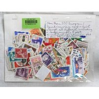 Image of More Than 300 European & Scandinavian Stamps Both Used & Mint All Off Paper