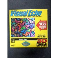 Image of 500 piece 3D jigsaw - Butterfly Magic (Visual Echo)