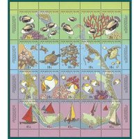 Image of Cocos (Keeling Islands) stamps sheet Not specified