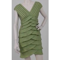 Image of Adrianna Papell Size: S Spring Green Dress