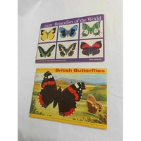 Image of Brooke bond picture cards butterflies of the world & British butterflies complete