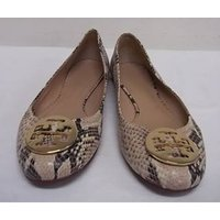 Image of TORY BURCH - Size: 10 - Brown - Flat shoes